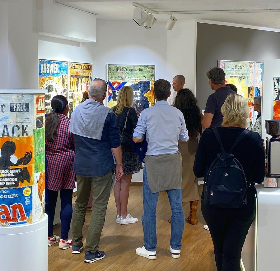 Exklusive Führung mit Jens Lorenzen durch seine Ausstellung MAUER it's painted! @ 30works