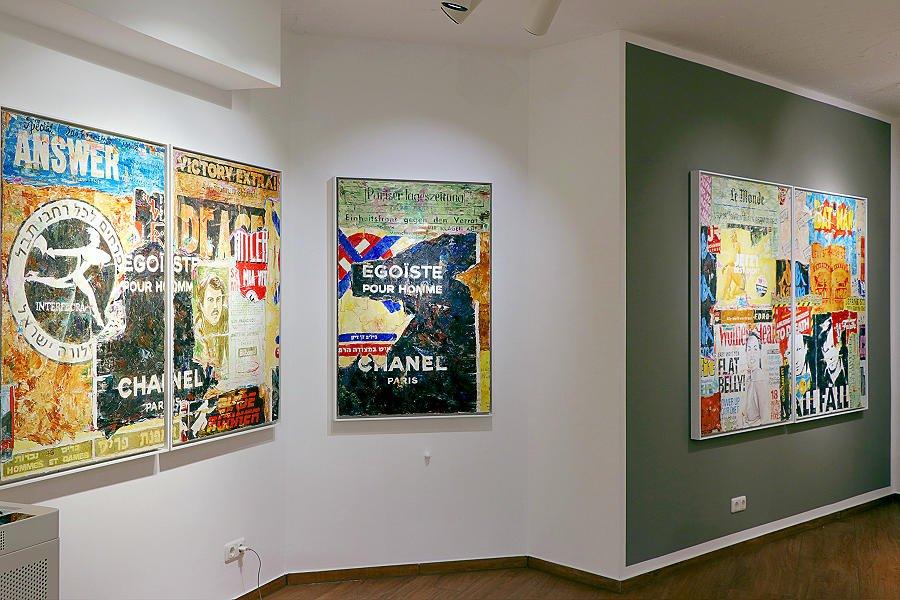 Aus der Ausstellung MAUER it's painted! @ 30works by Jens Lorenzen